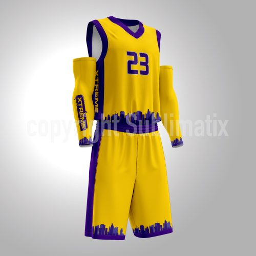 Sublimatix-custom-sublimation-Basketball-Uniform-Los Angeles