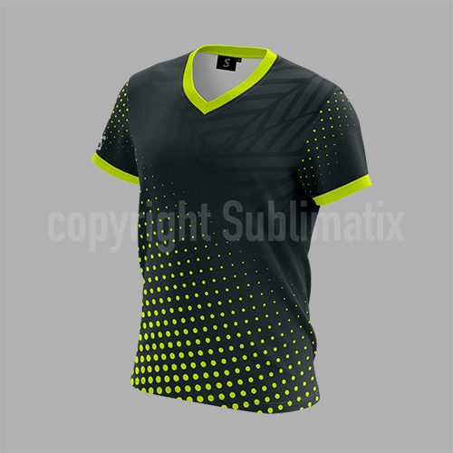Sublimatix-custom-sublimation-V-neck-T shirt Ankara