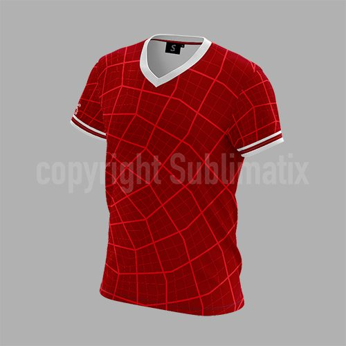 Sublimatix-custom-sublimation-V-neck-T-shirt Johannesburg