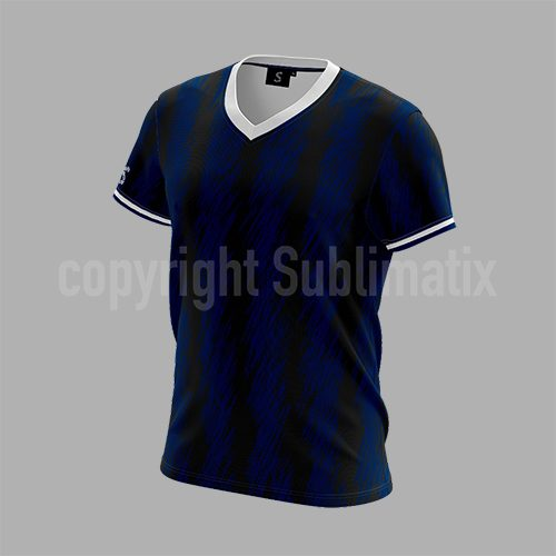 Sublimatix-custom-sublimation-V-neck-T-shirt Surat