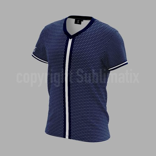 Sublimatix-custom-sublimation-V-neck-T shirt Xian