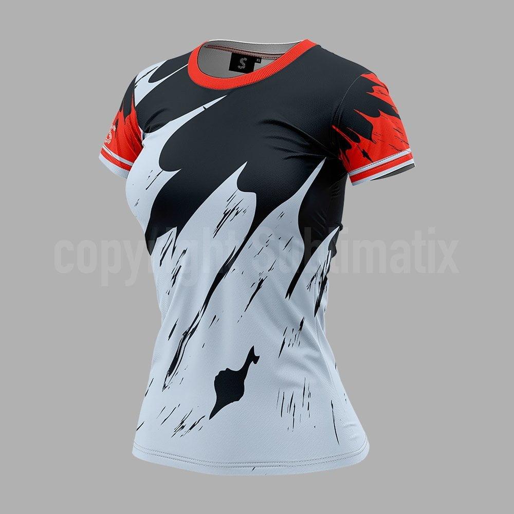 Sublimatix-custom-sublimation-round-neck-T-shirt-woman-Barcelona