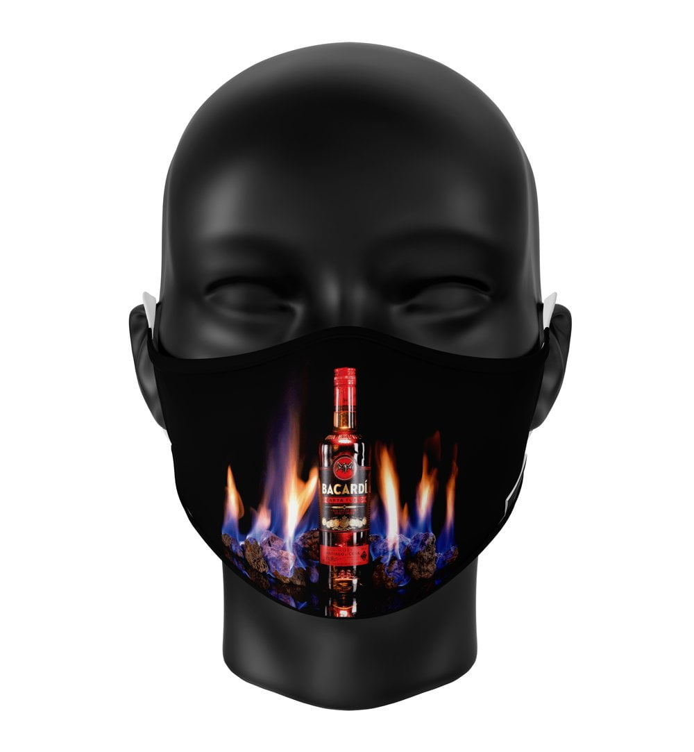 FaceMasks Sublimatix ECONIC with virusblocker
